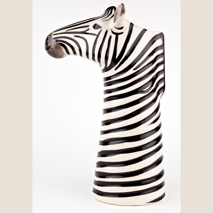Zebra Vase Quail Ceramics - Buy Online UK