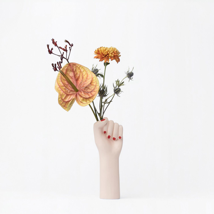 DOIY Girl Power Hand Vase