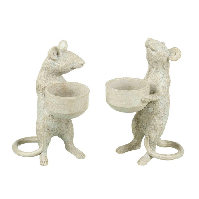 Mouse Tea light Candle Holder Parlane - Buy Online UK