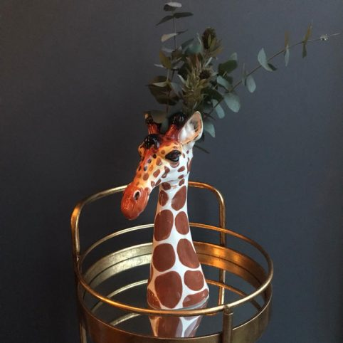 Rutherford and McGowan Giraffe Vase - Buy Online UK
