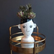 Quirky Face Vase - Buy Online UK
