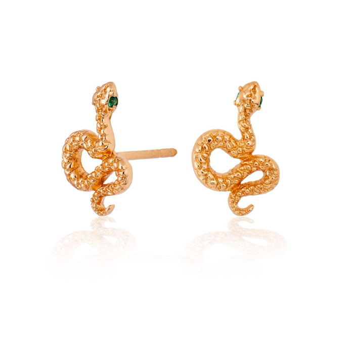 gold-snake-earrings