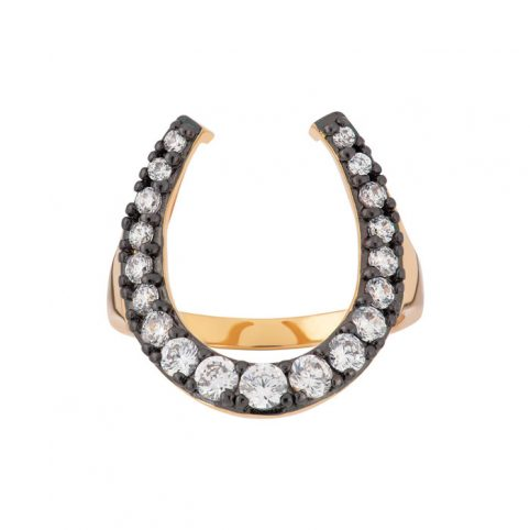 Scream Pretty Horseshoe Ring - Buy Online UK