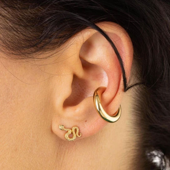 Scream Pretty Snake Stud Earrings - Buy Online UK