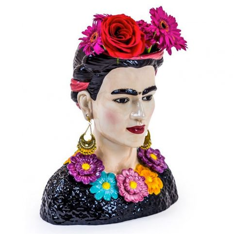 Frida Kahlo Ceramic Vase - Buy Online UK