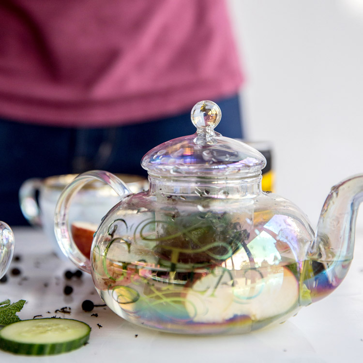 G&Tea Glass Teapot and Cup - Buy online UK