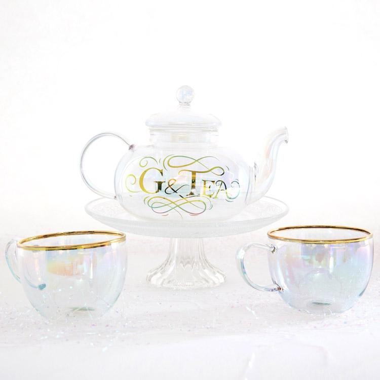 G&Tea Glass Teapot From Root 7