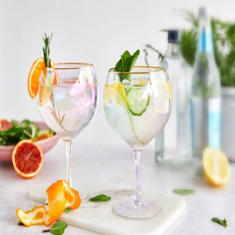 Rainbow-Gin-Glasses-Set-Of-Two-For-Sale-Online-Free UK-Delivery