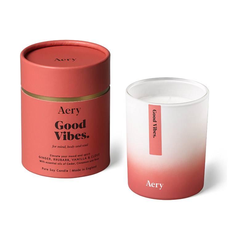 good vibes candle