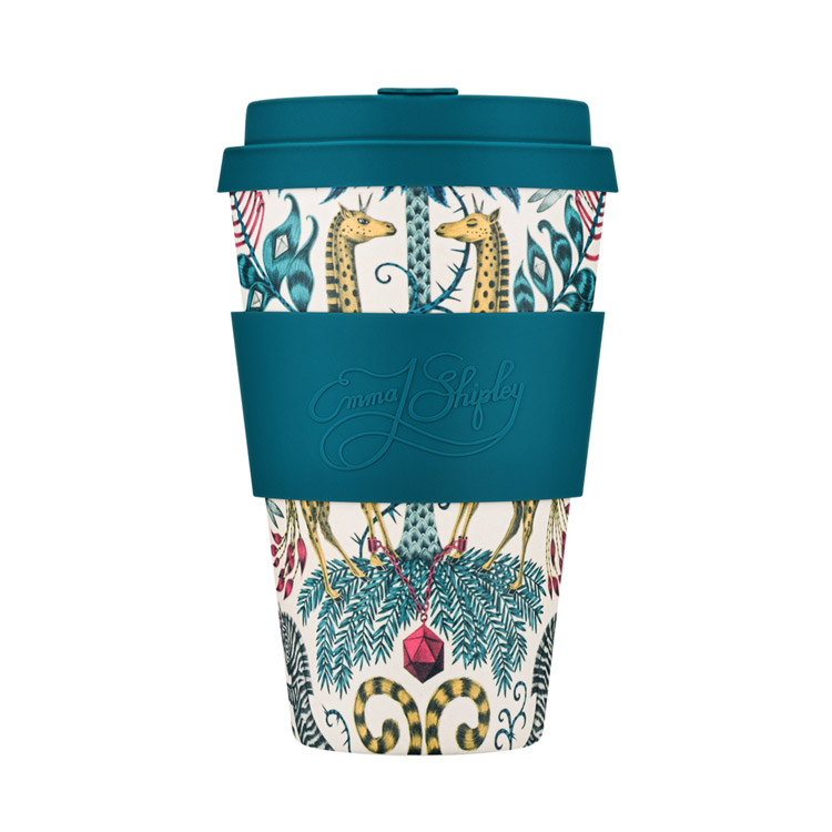 emma shipley ecoffee cup giraffe desig, Purchase online with free UK delivery