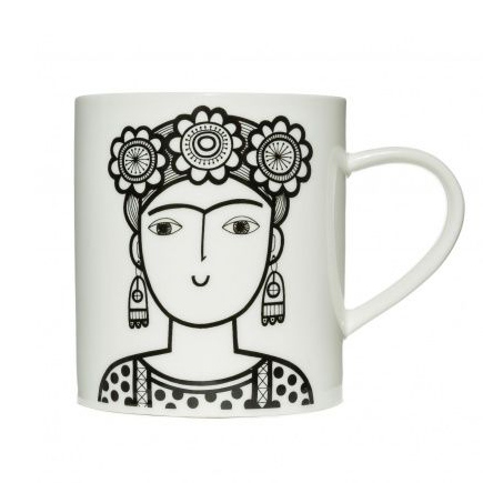 Jane Foster Frida Kahlo Mug - Buy Onlin UK