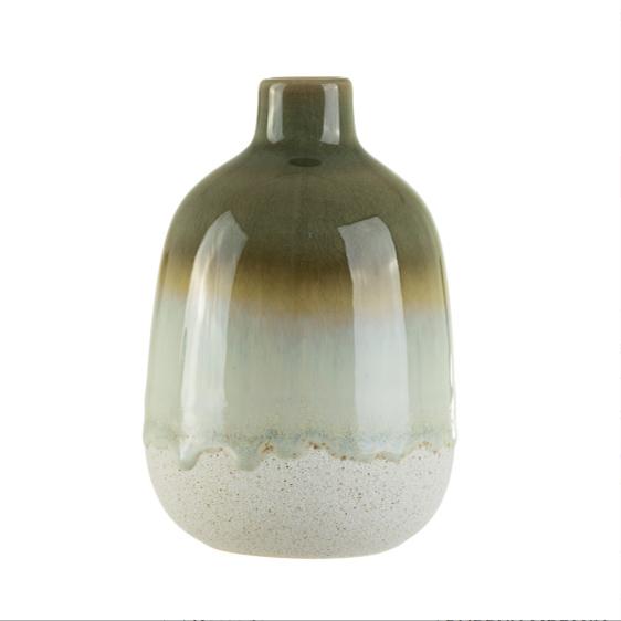 Glaze Green Vase - Buy Online UK