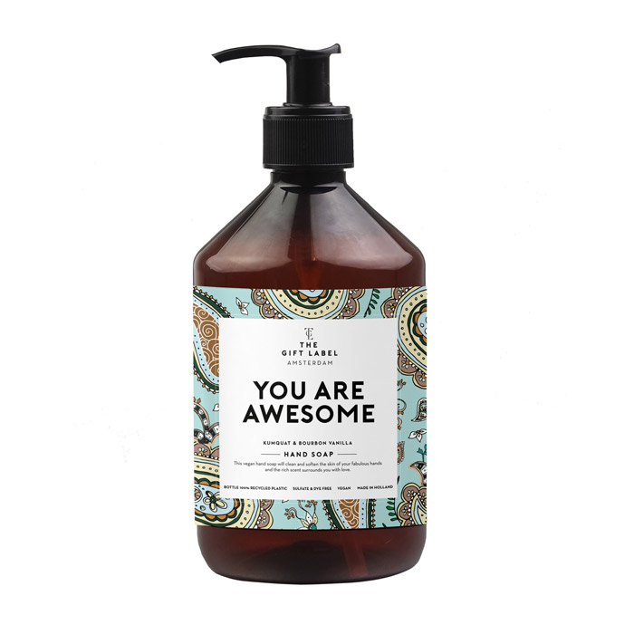The Gift Label Hand Soap - You Are Awesome Buy Online UK