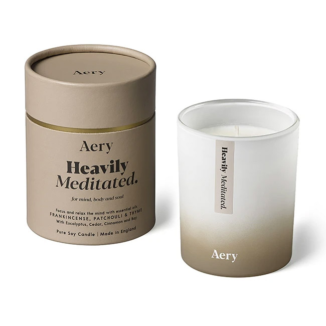 Aery Heavily Meditated Candle - Buy Online UK