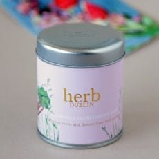 Rhubarb With Fresh Garden Mint Candle