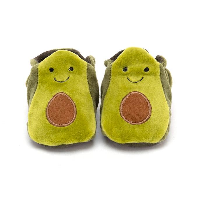 Jellycat Avocado Baby Booties - Buy Online UK