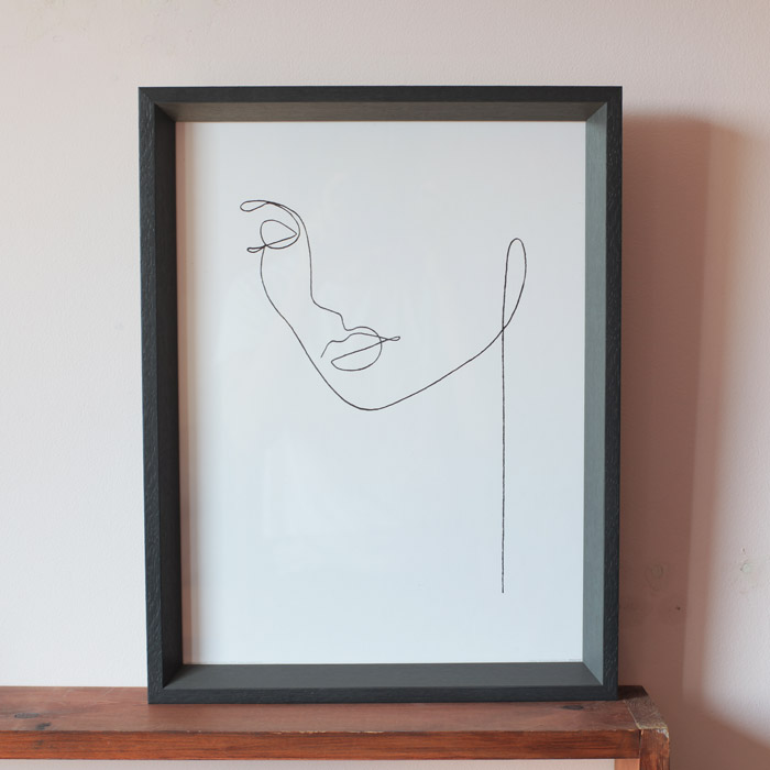 Louise Nisbet Face Print - Buy Onilne UK