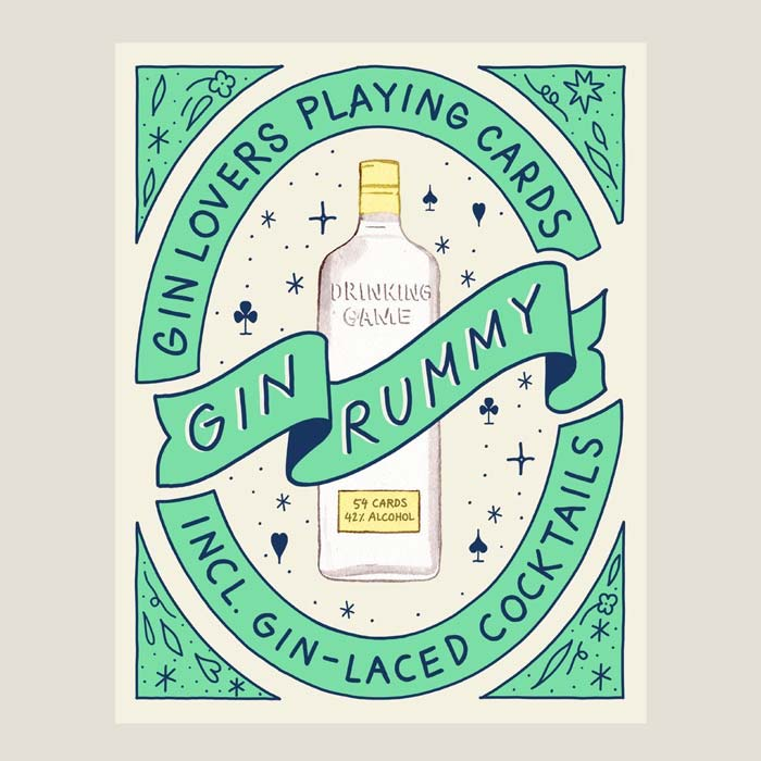 Gin Lovers Playing Cards - Buy Online UK