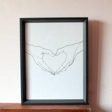 Louise Nisbet Love Print - Buy Online UK