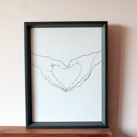 Louise Nisbet Love Print - Buy Online UK
