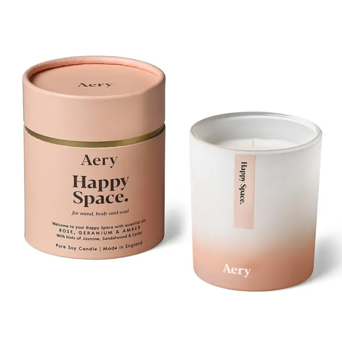 Happy Space Soy Wax Candle - Buy Online UK