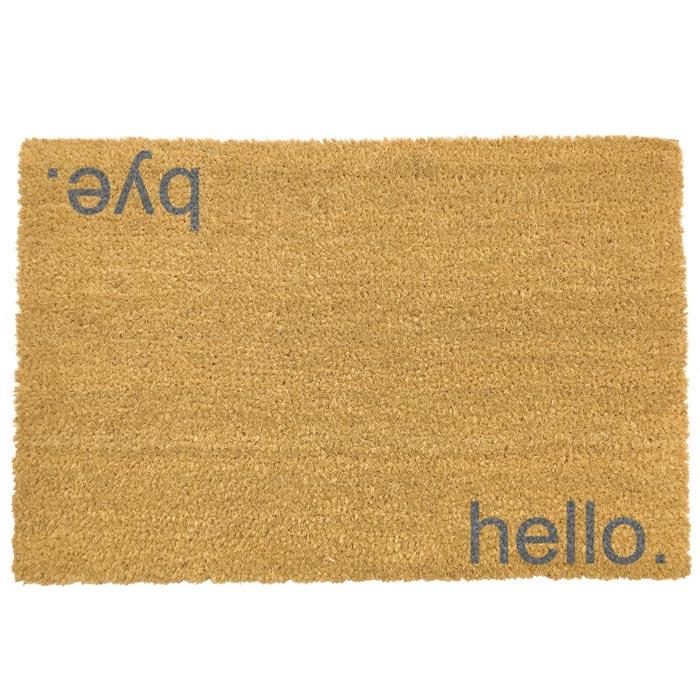 Hello Bye Doormat - Buy Online UK