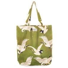 Green Stork Bag - One Hundred Stars