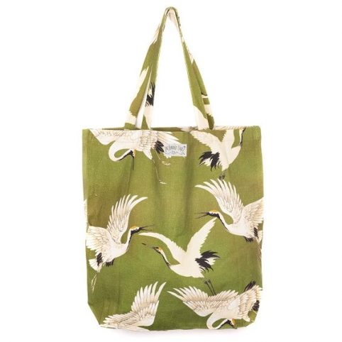Green Stork Bag - One Hundred Stars