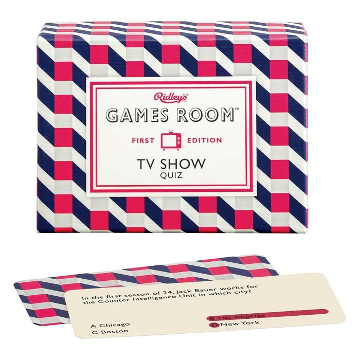 Ridleys Games TV Show Quiz - Buy Online uk