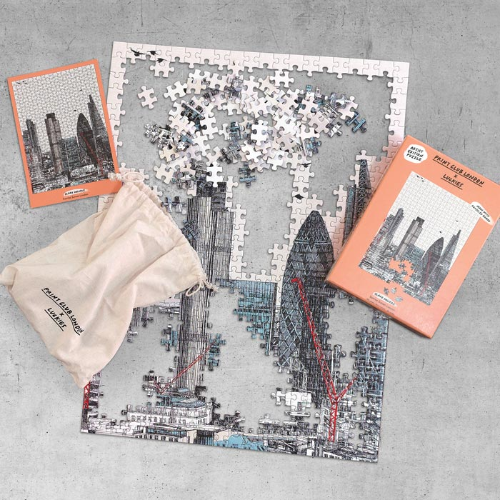 Clare Halifax Jigsaw London Sunset Sunrise Buy Online UK