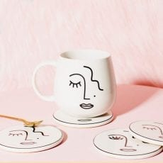 Sass and Belle Abstract Face Mug - Buy Online UK
