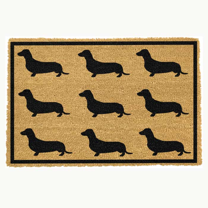 Sausage Dog Doormat - Buy Online UK
