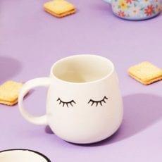 Sass and Belle Eyes Shut Mug - Buy Online UK