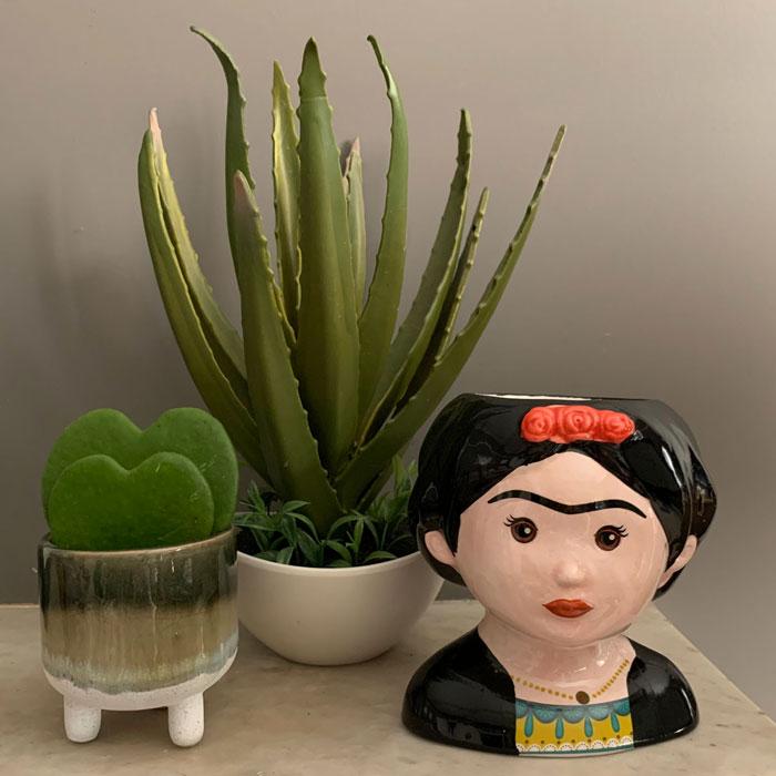 Frida Kahlo Small Ceramic Pot - Buy Online UK