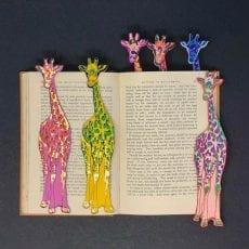 Giraffe Leather Bookmark - Buy Online UK
