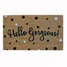 Hello Gorgeous Doormat - Buy Online UK