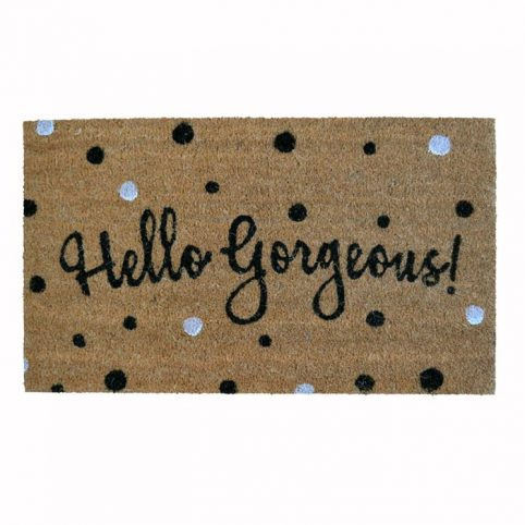 Hello Gorgeous Doormat - Buy Online UK