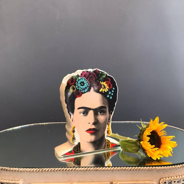 Frida Kahlo Vase for all the Frida lovers purchase from source with free UK delivery over £20