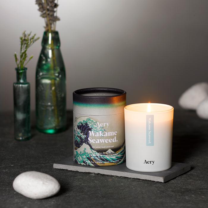 Wakame Seaweed Candle