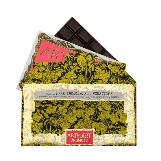 Arthouse Dark Chocolate with Honeycomb - Buy Online UK