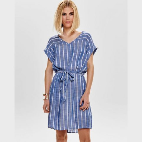JDY Striped Shirt Dress - Buy Online UK