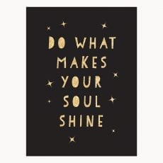 Do What Makes Your Soul Shine Book - Buy Online UK