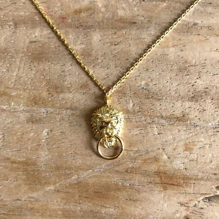 Boho Lion Door Knocker Necklace - Buy Online UK
