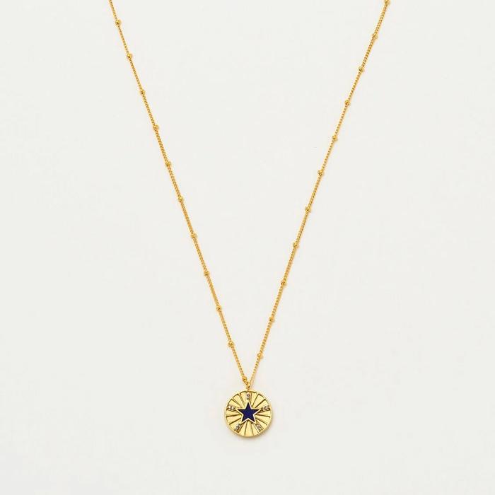 Enamel Star Necklace - Buy Online UK