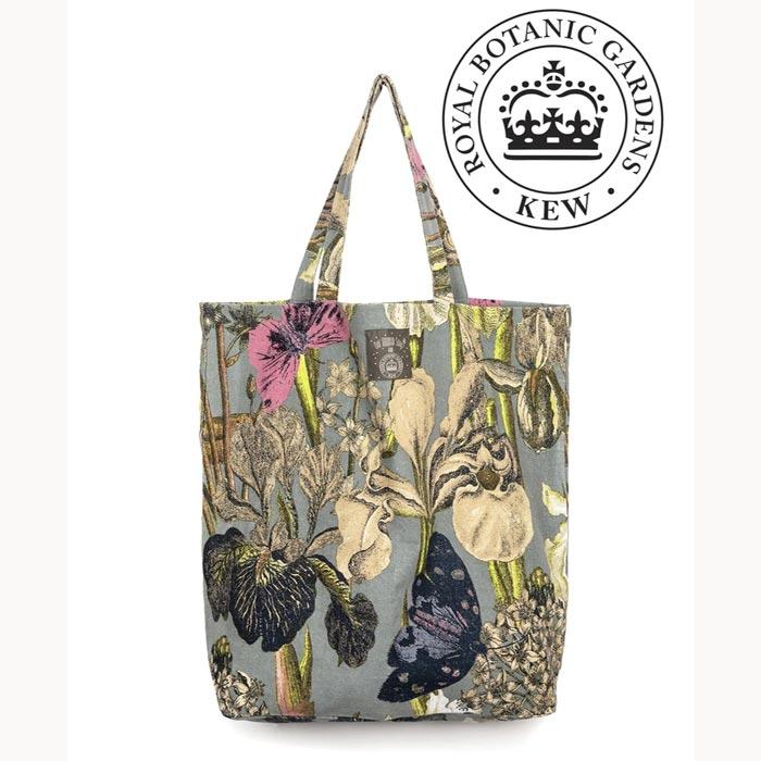 Iris Grey Bag Kew Botanic Gardens - Buy Online UK