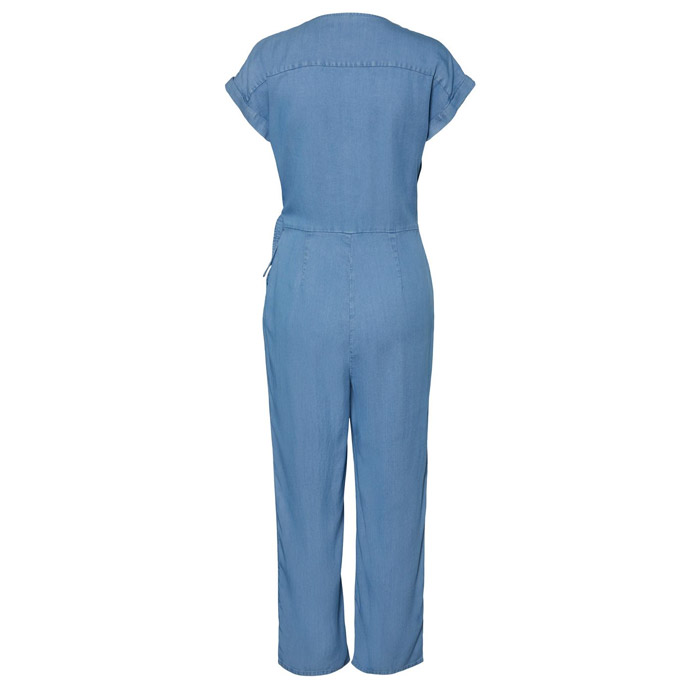 Vero Moda Blue Jumpsuit - Buy Online UK