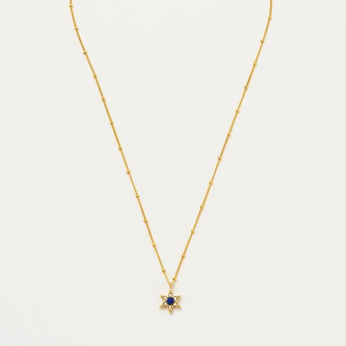 Lapus Lazuli Estella Bartlett Necklace - Buy Online UK