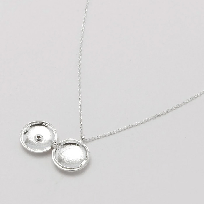 Silver Locket Necklace - Buy Online UK