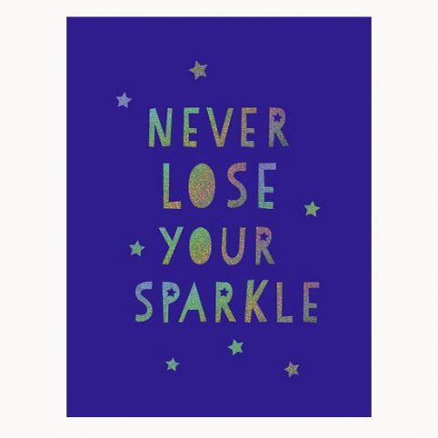 Never lose your sparkle book - buy online ulk