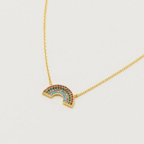 Estella Bartlett Rainbow Necklace - Buy Online UK